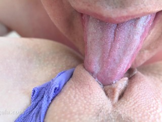 Big Pussy Lips Picture Posts MILF Needs A Quickie Orgasm & Creampie - Clit Licking Close Up Amateur