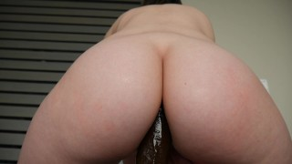 Ashley Alban - A bbc in Ashs ass Busty couple