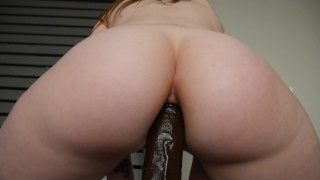Ashley Alban - A bbc in Ashs ass Ed sex