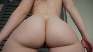 Ashley Alban - A bbc in Ashs ass Kink solo