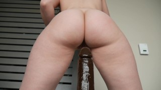 Ashley Alban - A bbc in Ashs ass Missionary pawg