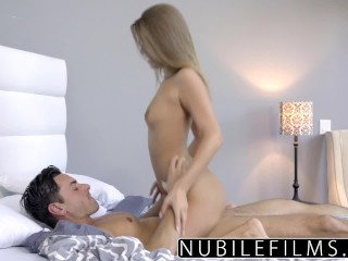 NubileFilms - Tight Coed Fucks And Swallows