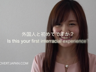 Shizuku's First Interracial Sex with White Guy - Covert Japan