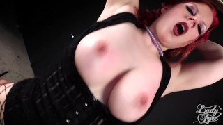 Cock Craving Goth Groupie Fucked Backstage EMO Lady Fyre