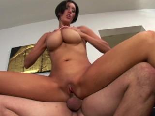 Big tit sucks