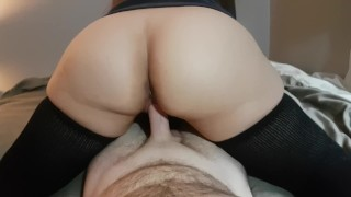 College Thigh High Socks Porn - 359.11K 88% REVERSE COWGIRL WITH THIGH HIGH SOCKS HAS EXPLOSIVE ORGASM AND  CUM IN PUSSY 10:23 HD