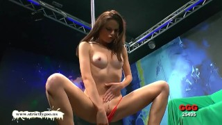 Girls up takes beautiful goo it german babe skinny the ass dick tits