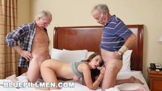 BLUEPILLMEN Introducing Old Man Duke to Teen Naomi Alice (bpm14870)