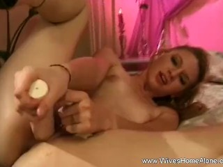 Hairy blonde gets fucked