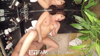 SpyFam Step mom Christiana Cinn fucks big dick step son  spyfam hd stepson blowjob cumshot big dick hardcore brunette 60fps sex stepmom spy step mom christiana cinn steps son step siblings caught