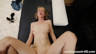 48 Year Old MILF Fucks Younger Black Guy During Casting Interview Butt vibrator