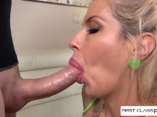 FirstClassPOV – Savana Styles loves to suck and fuck a huge cock