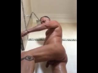Anális douche pornó