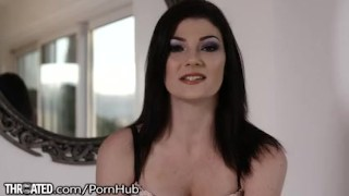 Throated New Comer Jessica Rex Gets it All In