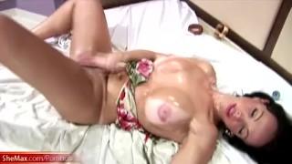 Shedoll finger fucks her butt during hardcore masturbation Cock hd