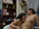 Japanese lesbians college girls in dormitory