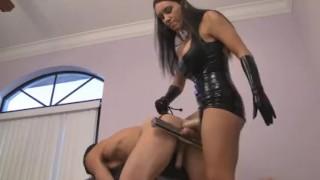 Megan's ass bitch  strapon humiliation femdom