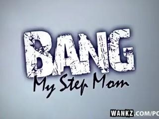 WANKZ- Carrie Ann Gets Cum All Over Her Lips