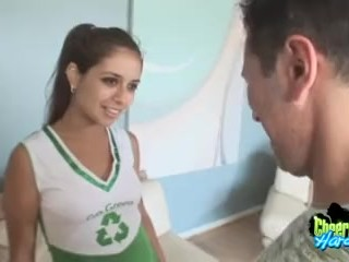 Teen Sucks Dads Cock Naughty Cheerleader Cock Sucking, Brunette Blowjob Pornstar Teen Role Play