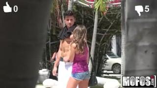 Mofos - Kimmy Granger Bounces her Booty Handjob panties