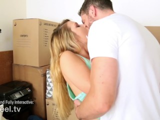 Interactive - Abby Cross Angry Fucks her Boyfriend