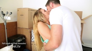 Interactive - Abby Cross Angry Fucks her Boyfriend Public on
