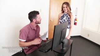 Interactive - Secretary Dillion Harper Gets Plowed by Coworker porno