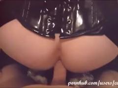 CuteCross: Sissy slut is fucked hard bareback and cum in