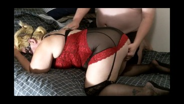 Fingering and Leash Sex with InkedLeigh