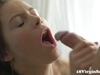 18 Virgin Sex - Sensual and romantic sex is what 18 year old Polina