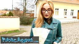 Redhead student Eva with kinky glasses goes all out