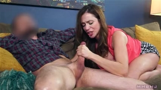 Big titty MILF sucks off shady landlord to cover rent On milf