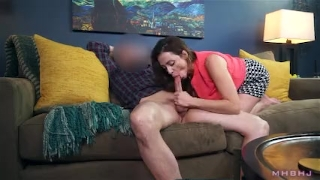 Big titty MILF sucks off shady landlord to cover rent On mommysgirl