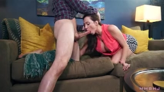 Shady to landlord cover big milf rent sucks off titty mouth rim
