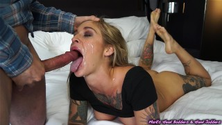 Alternative slut outwitted for a go at her holes! porno