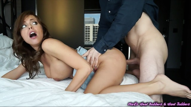 Amber rains sucks - Cheating slut caught easily persuaded into giving up her tight little hole