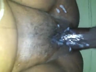Sloppy Creampie POV after playing with my bullet.