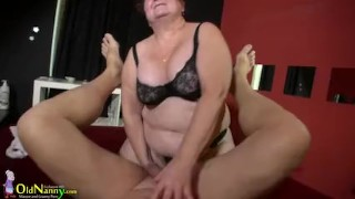 Big oldnanny with has big sex tits natural granny bbw pov