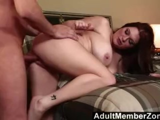 Porno Amatrices Fucking, AdultMemberZone- Busty redhead shakes her boobs for a big load . Big ass Bi
