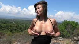 Vic Alouqua Flashing and Masturbating on the hiking trail.