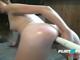 Cute Blonde Chair & Frying Pan Double Penetration