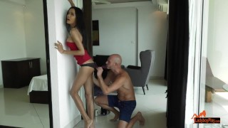 LadyboyPlay - Bella Begs for a Banging porno