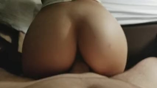 Beautiful College Teen Ass Riding Hard Dick Of cock
