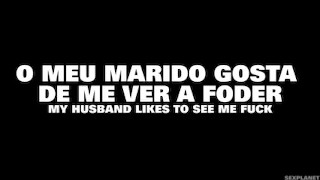 O meu marido gosta de me ver foder ! Trailer hardcore sexplanet-portugal sexplanet cuckold-husband wife cuckold big-ass butt