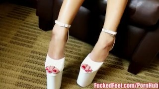 Riesling footjob first teen for fucked does feet ryan time young