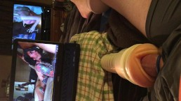 Trying Different Fleshlights and Multiple Viewing Devices!!