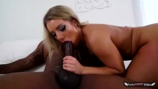 Cock candice black big by dare stuck pussyfucking blonde