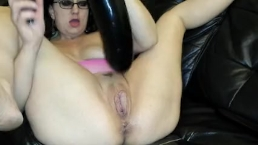 Meaty pussy brutal fisting big toy masturbation inflatable dildo blowout