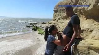Beach fun Jahan & Jayla