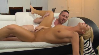 Young Teen Step daughter Catches Moms Boyfriend Jerking Off
